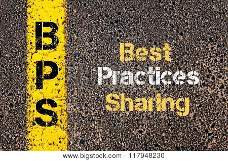 Business Acronym Bps Best Practices Sharing