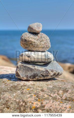 Balanced Stone Pyramid