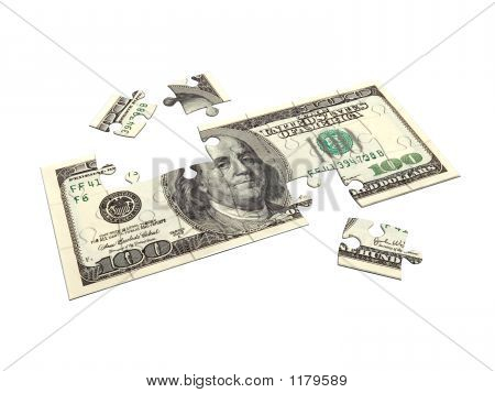 Dollar Puzzle 3D