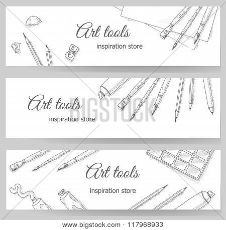 Art tools flyer