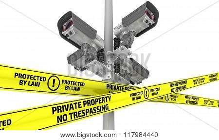 Private property under protected. The concept