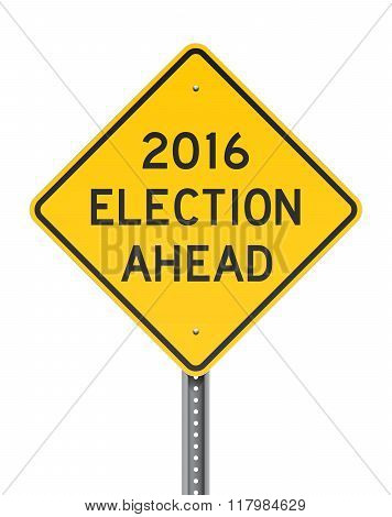 Election 2016 Roadsign