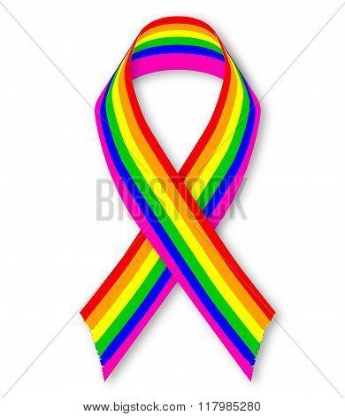 Lgbt Awareness Ribbon