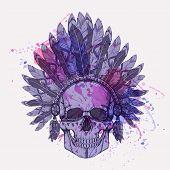 085e03177c112 Aztec Style Headdress Vector & Photo (Free Trial)   Bigstock