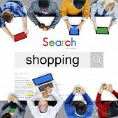 Shopping Purchase Shopaholic Buying Spending Concept poster