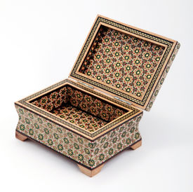 Box inlay