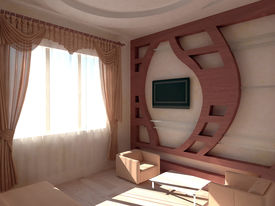 Hotel room at daytime