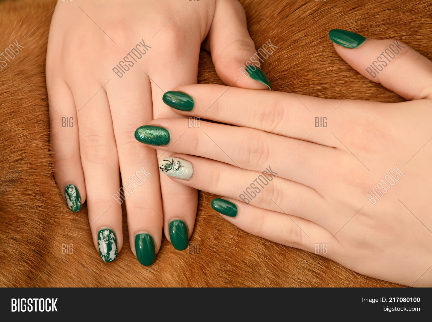 Graft Nails Design French Manicure Image & Photo | Bigstock
