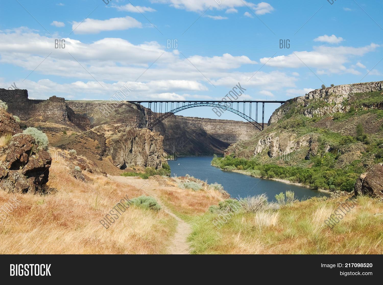 Perrine Bridge Over Image Photo Free Trial Bigstock