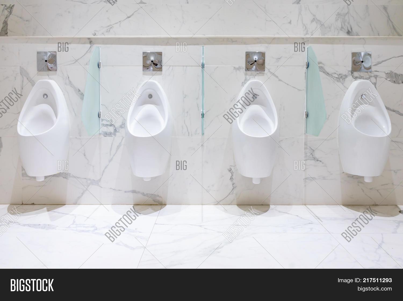 Row Urinals Men Public Image & Photo (Free Trial) | Bigstock