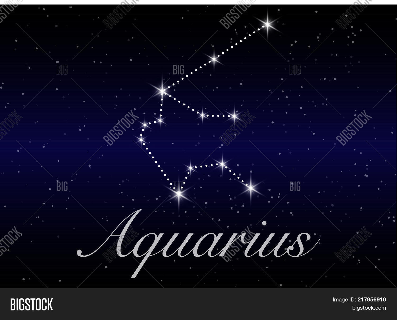 Aquarius Zodiac Vector Photo Free Trial Bigstock