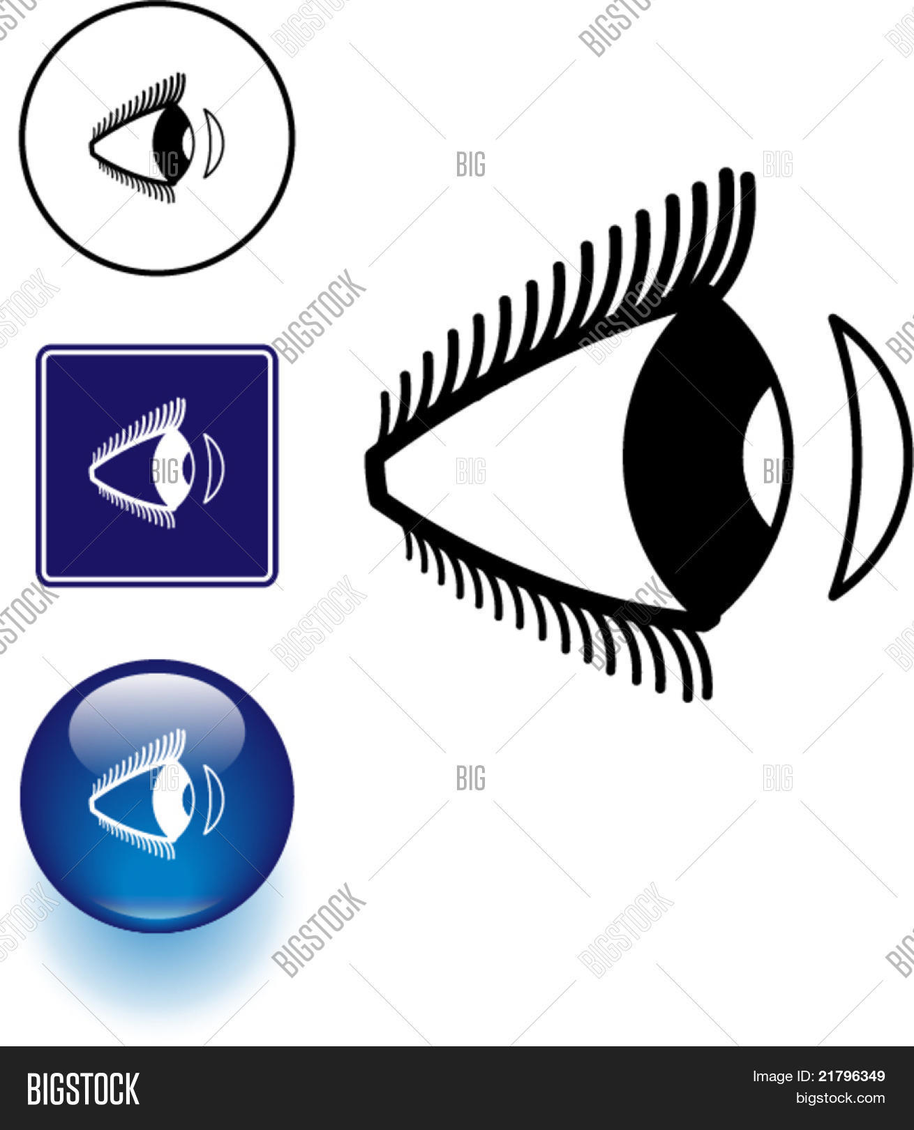Contact Lens Eye Vector Photo Free Trial Bigstock