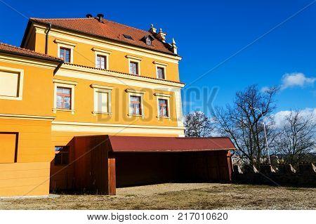 Citizens Brewery, Former Kotnov Castle, Tabor, Bohemia, Czech Republic