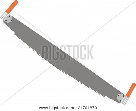 Two-handled saw