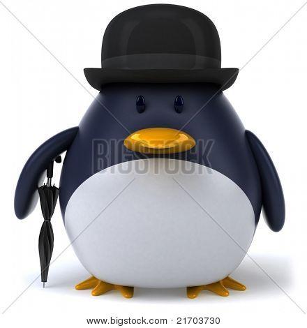 Gentleman penguin