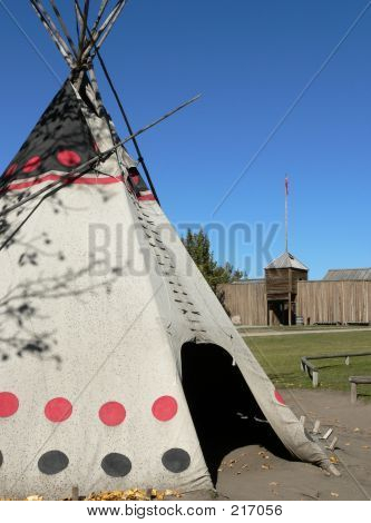 Tepee And Fort