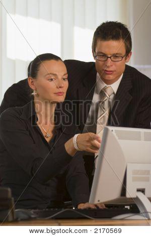 Teamwork im Büro