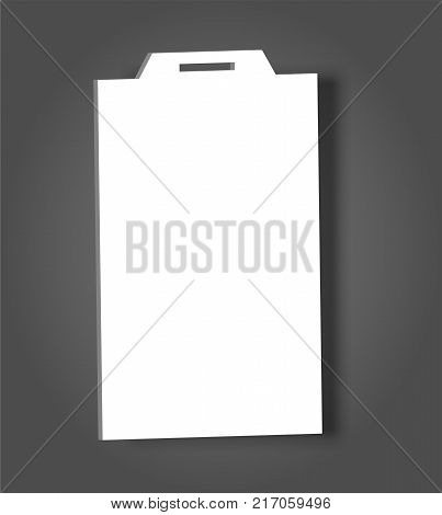 Blank Name Tags Mockup Vector Vector  Photo  Bigstock