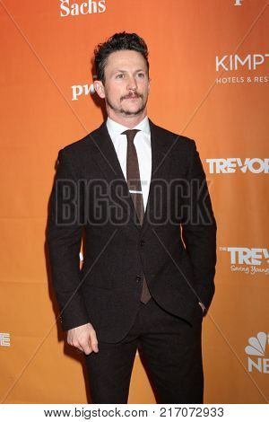LOS ANGELES - DEC 3:  Jonathan Tucker at the 2017 TrevorLIVE Los Angeles at Beverly Hilton Hotel on December 3, 2017 in Beverly Hills, CA