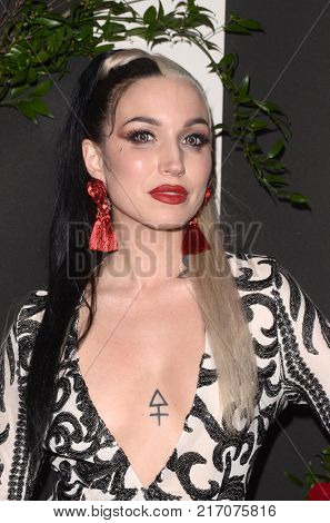 LOS ANGELES - NOV 30:  Mynxii White at the Land Of Distraction Launch Party at the Chateau Marmont on November 30, 2017 in West Hollywood, CA