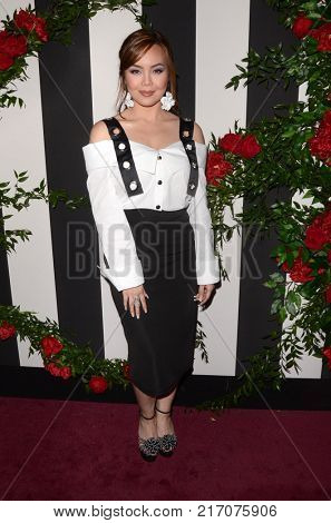 LOS ANGELES - NOV 30:  Anna Maria Perez de Tagle at the Land Of Distraction Launch Party at the Chateau Marmont on November 30, 2017 in West Hollywood, CA