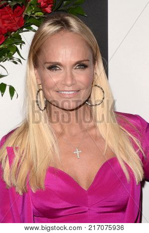 LOS ANGELES - NOV 30:  Kristin Chenoweth at the Land Of Distraction Launch Party at the Chateau Marmont on November 30, 2017 in West Hollywood, CA