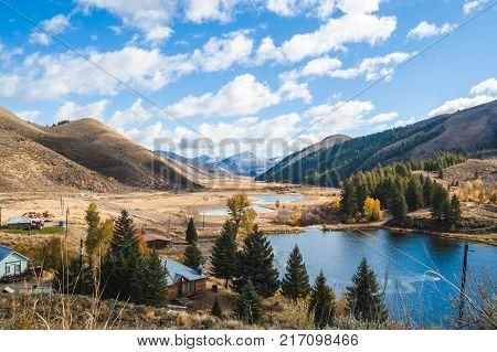 Dierkes Lake In Twin Falls, Idaho