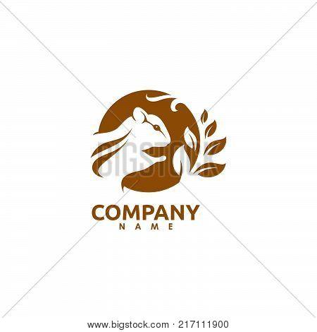 Squirrel Logo. Vector & Photo (Free Trial) | Bigstock