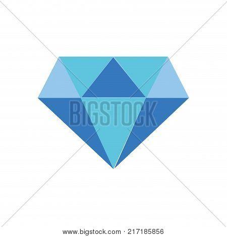 full color beauty luxury diamond gen accessory vector illustration