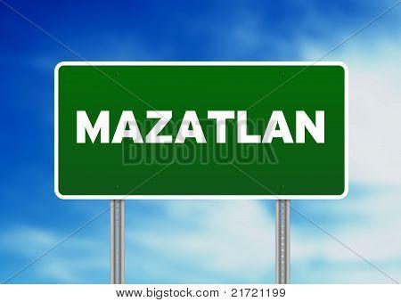 Mazatlan, Highway  Sign