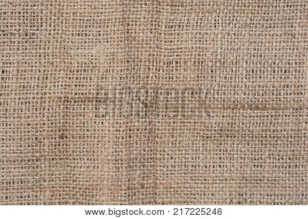 Texture Of Jute Canvas Background