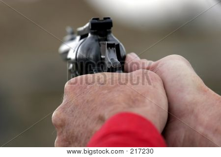 Pistol Cocked