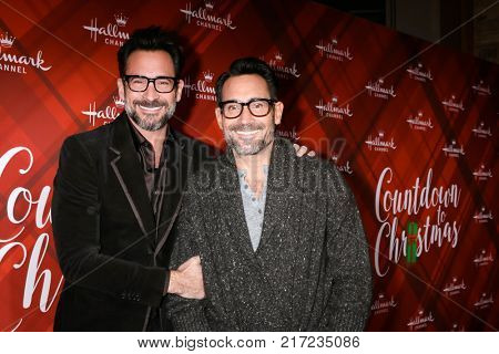LOS ANGELES - DEC 4:  Lawrence Zarian, Gregory Zarian at the Christmas At Holly Lodge Screening at 189 The Grove Drive on December 4, 2017 in Los Angeles, CA