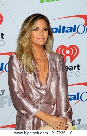 LOS ANGELES - DEC 2:  Becca Tilley at the Jingle Ball 2017 at the Forum on December 2, 2017 in Inglewood, CA