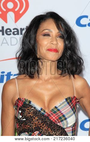 LOS ANGELES - DEC 2:  Jada Pinkett Smith at the Jingle Ball 2017 at the Forum on December 2, 2017 in Inglewood, CA