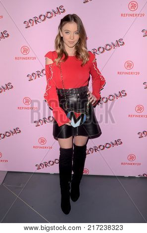 LOS ANGELES - DEC 6:  Sydney Sweeny at the 29Rooms West Coast Debut presented by Refinery29 at the ROW DTLA on December 6, 2017 in Los Angeles, CA