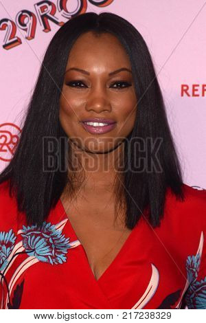 LOS ANGELES - DEC 6:  Garcelle Beauvais at the 29Rooms West Coast Debut presented by Refinery29 at the ROW DTLA on December 6, 2017 in Los Angeles, CA