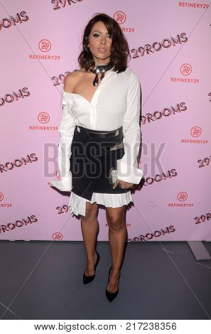 LOS ANGELES - DEC 6:  Kat Graham at the 29Rooms West Coast Debut presented by Refinery29 at the ROW DTLA on December 6, 2017 in Los Angeles, CA
