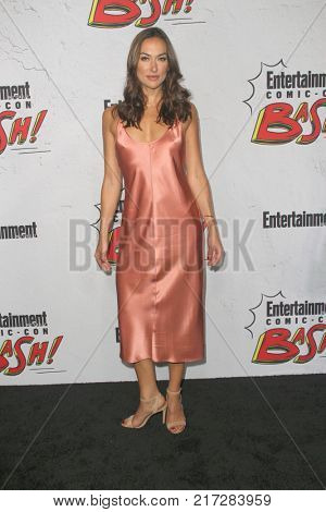 SAN DIEGO - July 22:   Tasya Teles at the Entertainment Weekly's Annual Comic-Con Party 2017 at the Float at Hard Rock Hotel San Diego on July 22, 2017 in San Diego, CA