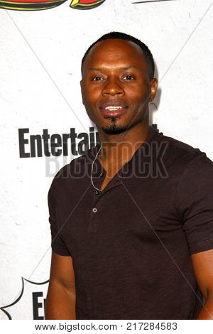 SAN DIEGO - July 22:  Malcolm Goodwin at the Entertainment Weekly's Annual Comic-Con Party 2017 at the Float at Hard Rock Hotel San Diego on July 22, 2017 in San Diego, CA
