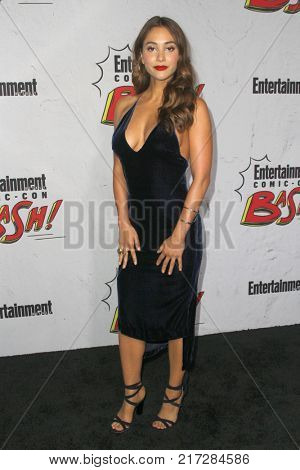 SAN DIEGO - July 22:  Lindsey Morgan at the Entertainment Weekly's Annual Comic-Con Party 2017 at the Float at Hard Rock Hotel San Diego on July 22, 2017 in San Diego, CA