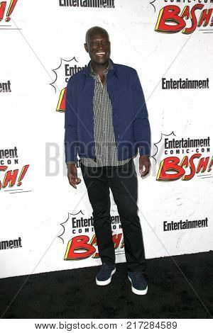 SAN DIEGO - July 22:   Peter Mensah at the Entertainment Weekly's Annual Comic-Con Party 2017 at the Float at Hard Rock Hotel San Diego on July 22, 2017 in San Diego, CA