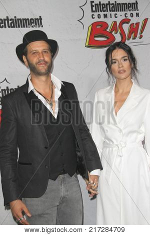 SAN DIEGO - July 22:  Stefan Kapicic, Ivana Horvat at the Entertainment Weekly's Annual Comic-Con Party 2017 at the Float at Hard Rock Hotel San Diego on July 22, 2017 in San Diego, CA