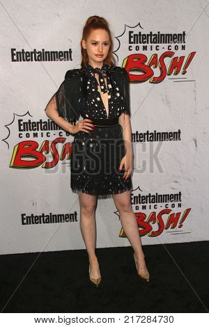 SAN DIEGO - July 22:   Madelaine Petsch at the Entertainment Weekly's Annual Comic-Con Party 2017 at the Float at Hard Rock Hotel San Diego on July 22, 2017 in San Diego, CA