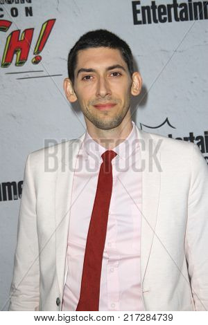 SAN DIEGO - July 22:  Max Landis at the Entertainment Weekly's Annual Comic-Con Party 2017 at the Float at Hard Rock Hotel San Diego on July 22, 2017 in San Diego, CA