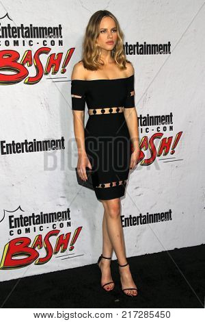 SAN DIEGO - July 22:  Halston Sage at the Entertainment Weekly's Annual Comic-Con Party 2017 at the Float at Hard Rock Hotel San Diego on July 22, 2017 in San Diego, CA