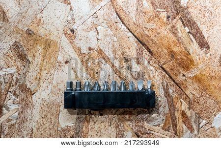 Black Handy Cordless Screwdriver Machine Isolated