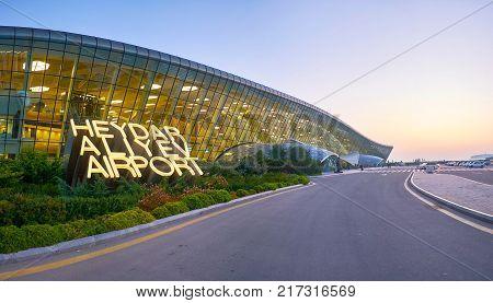Panorama Of Heydar Aliyev International Airport