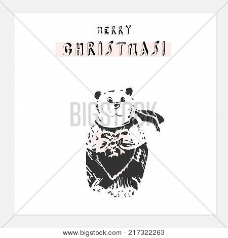 cartoon christmas vector photo free trial bigstock