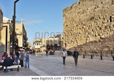 Western Wall Or Kotel, Old City Of Jerusalem, Israel